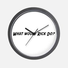 What would Rick do? Wall Clock