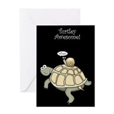Turtley Awesome Thanks! Greeting Card