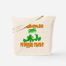 Leukemia Froggin Sucks Tote Bag