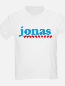 Jonas and Hearts T-Shirt