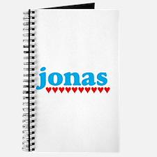 Jonas and Hearts Journal