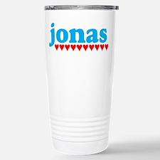 Jonas and Hearts Stainless Steel Travel Mug