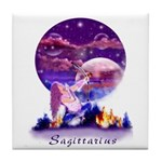 Sagittarius Tile Coaster