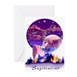 Sagittarius Art Cards (Pk of 10)