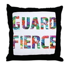 Guard Fierce Throw Pillow