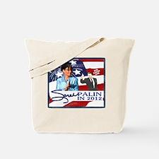 Sarah Palin in 2012 Tote Bag