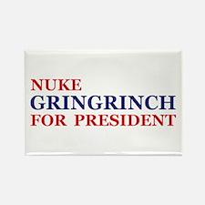 Gringrinch for President Rectangle Magnet