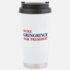 Gringrinch for President Stainless Steel Travel Mu