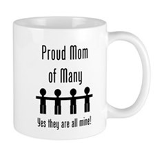 Mom of Many - 4 kids Coffee Mug