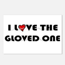 I Love The Gloved One (King of Pop) Postcards (Pac