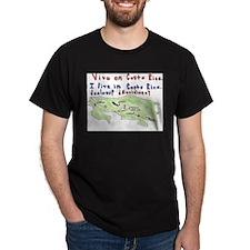 Costa Rica Map T-Shirt
