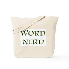 Word Nerd (medieval) Tote Bag