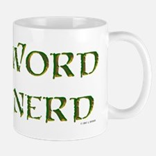 Word Nerd (medieval) Small Small Mug