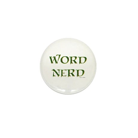 Word Nerd (medieval) Mini Button (10 pack)