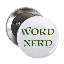 "Word Nerd (medieval) 2.25"" Button (10 pack)"