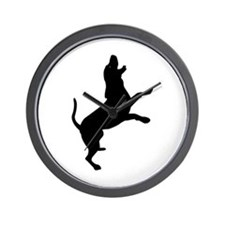 Treeing Walker Coonhound Wall Clock