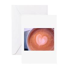 You gotta latte heart... Greeting Card