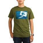 Chain Eye Organic Men's T-Shirt (dark)
