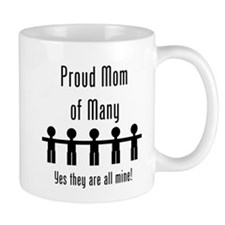 Mom of Many - 5 Kids Mug