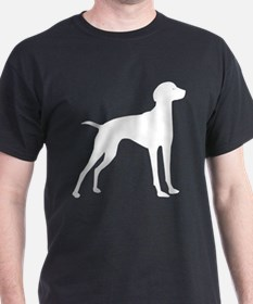 Vizsla Black T-Shirt