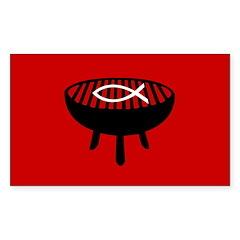 Fire It Up Rectangle Sticker 50 pk)