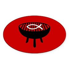 Fire It Up Oval Sticker (10 pk)