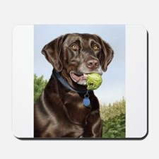 Chocolate Lab 1 Mousepad