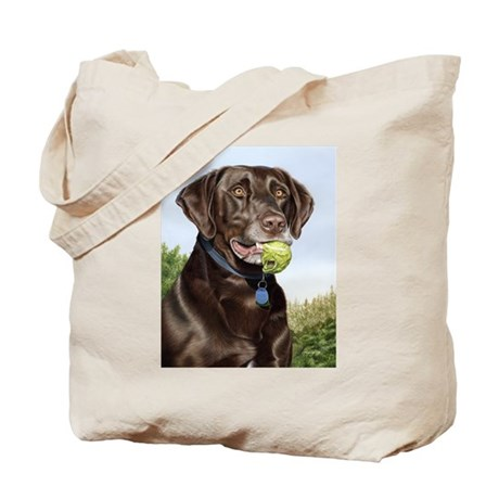 Chocolate Lab 1 Tote Bag
