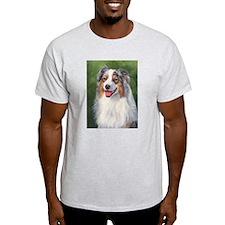 Blue Merle Australian Shepher T-Shirt