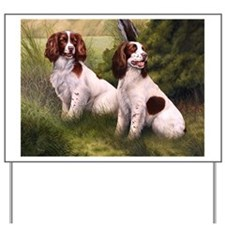 Field Springer Spaniels Yard Sign