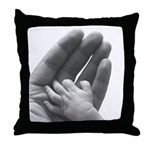 In Father's Hand Throw Pillow