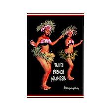 Tahiti Rectangle Magnet