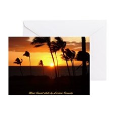 Maui Sunset Photo Greeting Cards (Pk of 10)