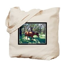 Maui Up-Country horse photos Tote Bag