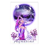 Aquarius Postcards (Package of 8)