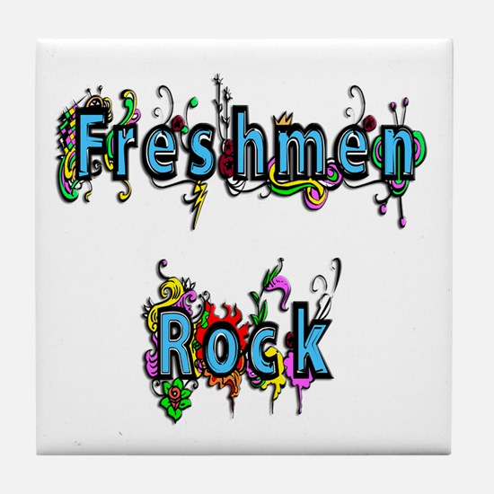 Freshmen Rock Tile Coaster