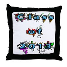 Class of 2013 Throw Pillow