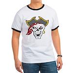 Pirate Skull Ringer T