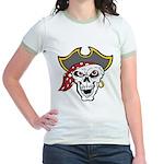 Pirate Skull Jr. Ringer T-Shirt
