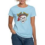 Pirate Skull Women's Light T-Shirt