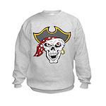Pirate Skull Kids Sweatshirt