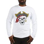 Pirate Skull Long Sleeve T-Shirt