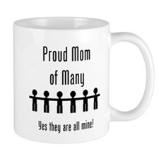 Mom of Many - 6 Kids Coffee Mug