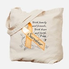 Cute Leukemia Tote Bag