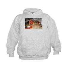 Hoodie with Chow & Chihuahua Birthday Par