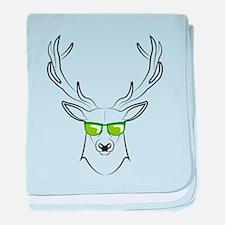 cool deer baby blanket