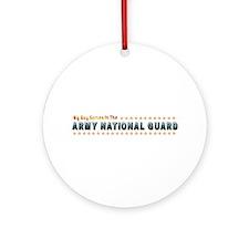 My Army Guard Boy Ornament (Round)