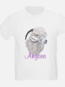Angel Kiss-Angora Doe Kids T-Shirt