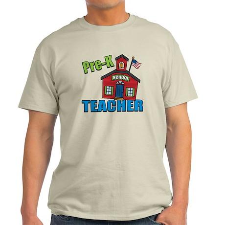 Pre-K Teacher Light T-Shirt
