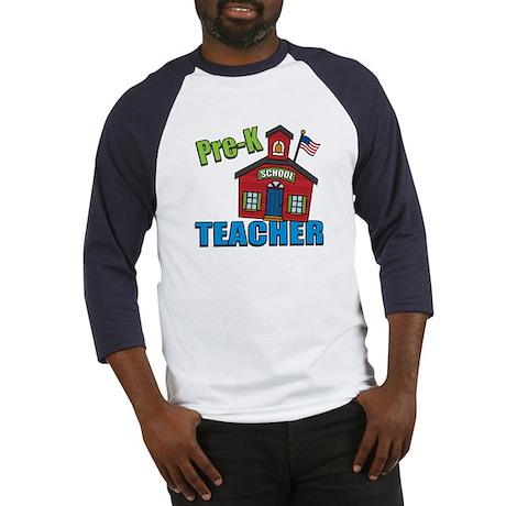 Pre-K Teacher Baseball Jersey